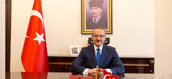 Vali Seddar Yavuz'un 19 Ekim Muhtarlar Günü Kutlama Mesajı