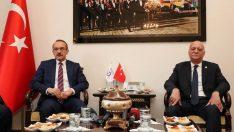 TZOB Başkanı Bayraktar, Vali Yavuz'u Ziyaret Etti