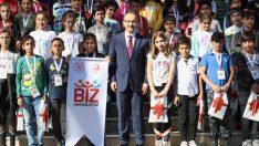 Tunceli'den gelen öğrenciler Ordu'yu gezdi.