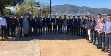 Gündoğdu Altınordu'da Eski ve Yeni Teşkilat Mensupları ile Buluştu