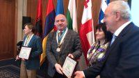 Uluslararası Asamblede Metin Gündoğdu'ya Onur Madalyası