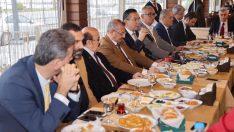 Rektör Akdoğan, Yerel Basın Mensupları ile Bir Araya Geldi