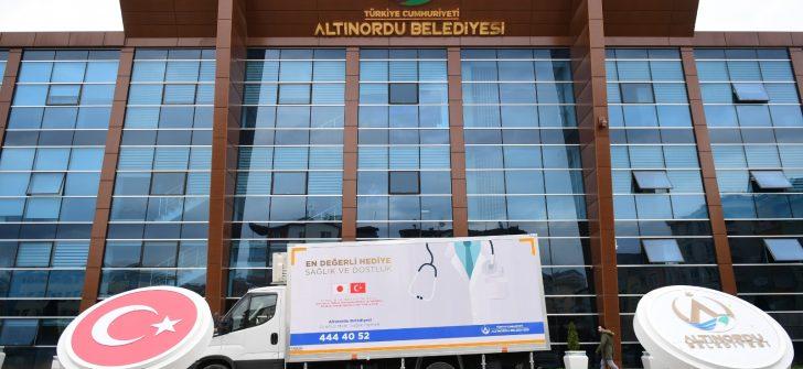 """ALTINORDU BELEDİYESİ'NDEN 'İNSANA HİZMET VE HÜRMET"""""""