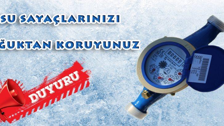 SU SAYAÇLARINDA DONMA TEHLİKESİNE DİKKAT !
