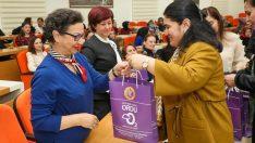 Vali Yavuz, Bayan Personellerin 8 Mart Dünya Kadınlar Gününü Kutladı