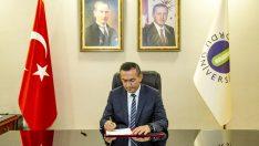 """Rektör Akdoğan'ın 18 Mart Çanakkale Zaferi""""nin 105. Yıl Dönümü Mesajı"""