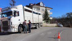 Ordu'da 110 Kamyon Sürücüsüne Yasal İşlem Yapıldı
