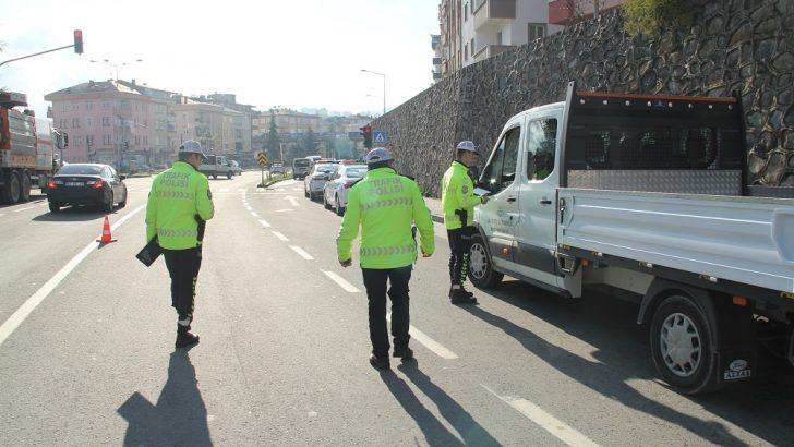 Ordu'da 966 Sürücüye Ceza Uygulandı