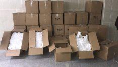 Ordu'da kaçak üretilen 90 bin maske yakalandı