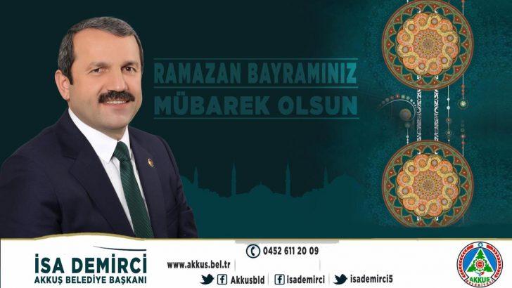 Başkan Demirci'nin Ramazan Bayramı Mesajı