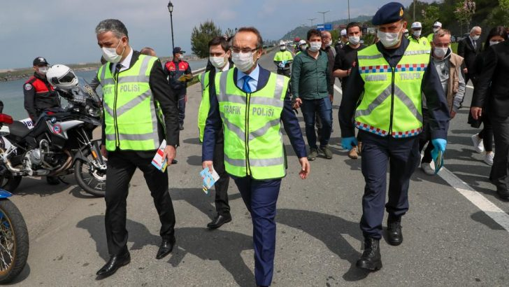 Vali Yavuz, Trafik Haftasında Etkinlik Gerçekleştirdi