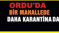 KARAAĞAÇ KÜME EVLERİ KARANTİNAYA ALINDI..