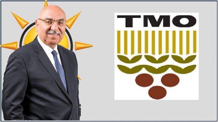 Milletvekili Dr. Şenel Yediyıldız'dan TMO'ya Teşekkür