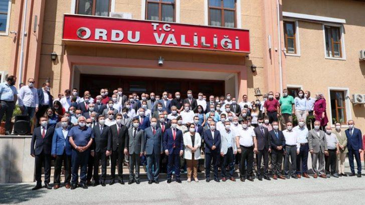 VALİ YAVUZ, ORDU'YA VEDA ETTİ