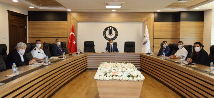 Ordu Üniversitesi ÖSYM İl Koordinasyon Kurulu Toplantısı Yapıldı
