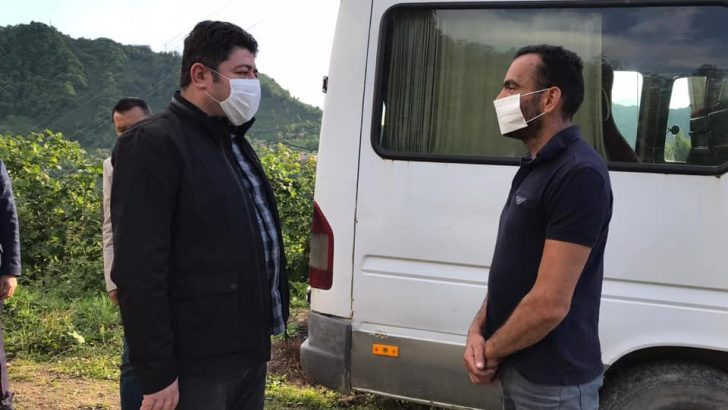 BAŞKAN TÖREN, ALTINORDU'YU KARIŞ KARIŞ GEZİYOR