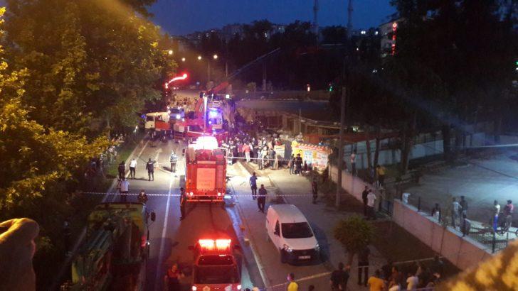 Ordu'da otel inşaatında göçük: 8 yaralı 1 Ölü