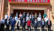 ORDEF HEYETİ, VALİ SONEL'İ ZİYARET ETTİ