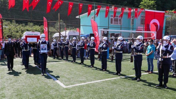 ŞEHİT UZMAN ÇAVUŞ ÇITIR, SON YOLCULUĞUNA UĞURLANDI