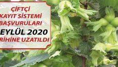 ÇKS BAŞVURU KAYITLARI 1 EYLÜL 2020 TARİHİNE KADAR UZATILDI