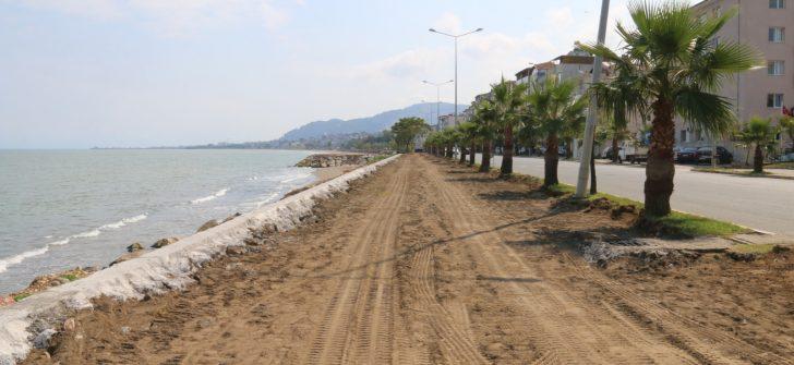 ÜNYE'YE 5 KM'LİK BİSİKLET YOLU