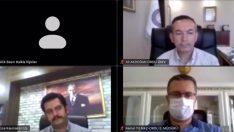 İl Pandemi Kurulu Toplantısı, Vali Sonel'in Başkanlığında Yapıldı