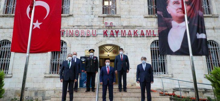 Ulu Önder Atatürk'ün Ordu'yu Ziyaretinin 96. Yıldönümü Kutlandı