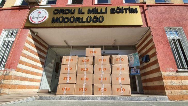 ORDU'DA ÖĞRENCİLERE FLO MAĞAZALARINDAN DESTEK