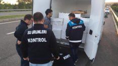 ORDU'DA BALIK STOKLARININ KORUNMASI İÇİN DENETİMLER DEVAM EDİYOR