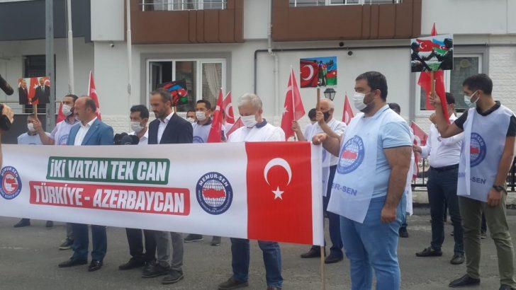 ORDU MEMUR-SEN'DEN AZERBAYCAN'A DESTEK, ERMENİSTAN'A TEPKİ