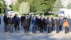 ORDU'DA 24 KASIM ÖĞRETMENLER GÜNÜ TÖRENLE KUTLANDI