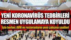 ORDU'DA YENİ KORONAVİRÜS TEDBİRLERİ