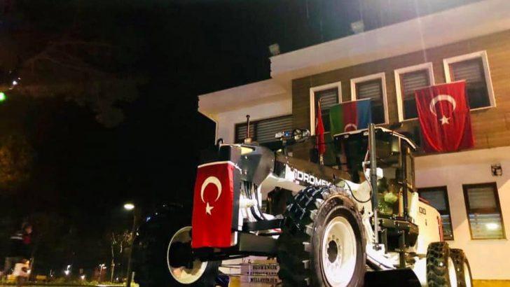 Perşembe Belediyesi araç filosunu güçlendirdi