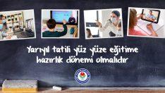Eğitim Bir-Sen, Yarıyıl Tatili Yüz Yüze Eğitime Hazırlık Dönemi Olmalıdır