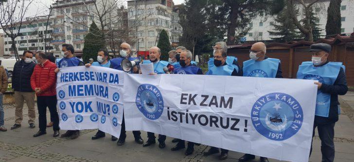 """Ordu Türkiye Kamu-Sen İl Temsilciliğinden """"ek zam"""" talebi"""