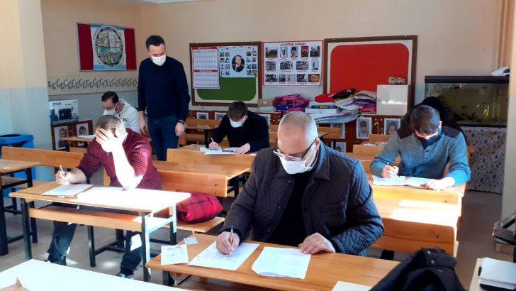 Altınordu'da SRC Sınavı Yapıldı