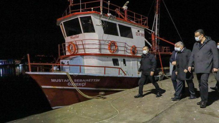 Vali Sonel, Balıkçı Esnafının Ekmek Mücadelesine Ortak Oldu