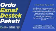 ESNAF DESTEK PROJESİ'NDE DETAYLAR NETLEŞTİ
