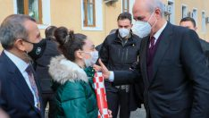 AK Parti Genel Başkan Vekili  Kurtulmuş, Vali Sonel'i Ziyaret Etti