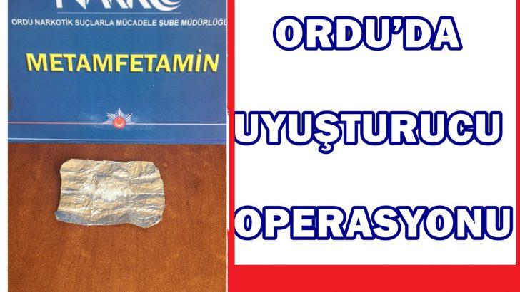 ORDU'DA UYUŞTURUCU OPERASYONU 7 KİŞİ TUTUKLANDI