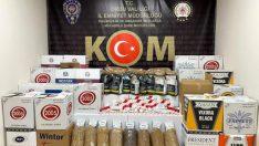 Ordu'da Tütün kaçakçısı 5 şüpheli yakalandı