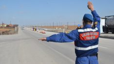 Ordu'da Reflektör Tak Görünür Ol Projesi Başlatıldı