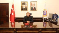 Vali Tuncay Sonel'in 19 Mayıs Atatürk'ü Anma, Gençlik ve Spor Bayramı Mesajı
