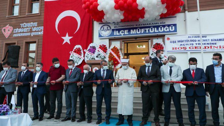 Prof. Dr. Ali Erbaş, 3 Günlük Ordu Programını Tamamladı