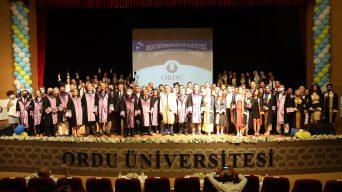 Ordu Üniversitesi Tıp Fakültesi Mezuniyet Töreni Yapıldı