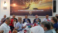 Vali Sonel, Şehit ve Gaziler Onuruna Yemek Programı Düzenledi