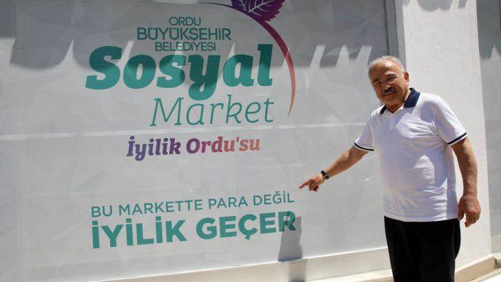 SOSYAL MARKET'E YERLİ YAZILIM